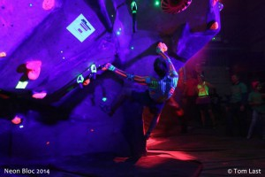 Neon Bloc 3 | The Barn Climbing Centre